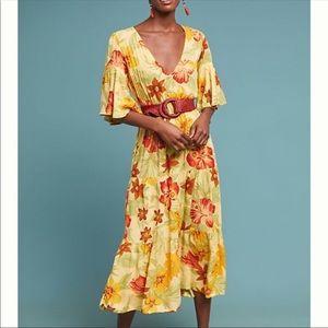 ANTHROPOLOGIE Faithfull Rios Floral Dress